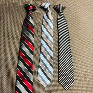 Other - Young men's clip on ties